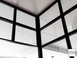 Projet Thiriau - Finition verrière d'angle