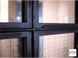 Projet Grosdemange : verrière avec carreau à maille