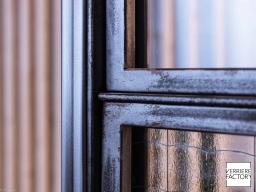Projet Grosdemange : verrière finition acier industriel