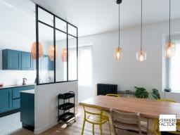 Projet Petit : Verrière cuisine salle à manger