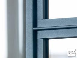 Projet Boyenval : Finition verrière fine texture