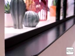 Projet Dumond : Finition étagère verrière