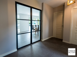 Projet Caillet : Cloison verrière entrée
