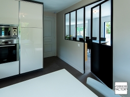 Projet Caillet : Porte atelier cuisine