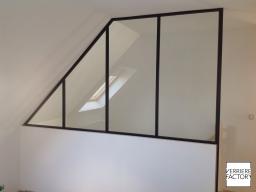 Projet Kervarrec : Verrière mezzanine sur mesure