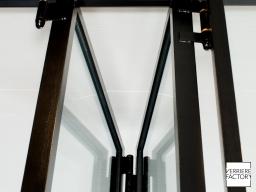 Projet Chevalier : Rail verrière fenêtre accordéon
