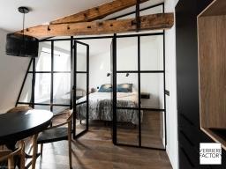 Projet Fourel : Cloison verrière loft